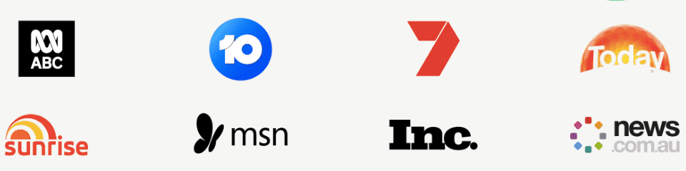 Logos of brands featuring spill the beans speakers 1